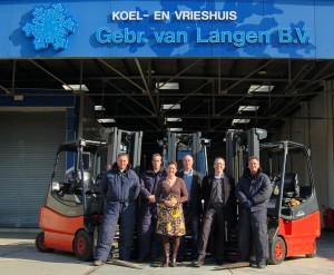 Team van Gebr van Langen